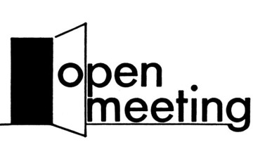 Open Meeting – 9th January