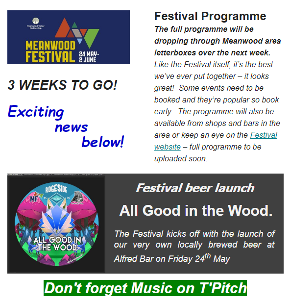 3 Weeks to Go! – Meanwood Valley Partnership